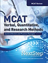 MCAT Verbal, Quantitative, and Research Methods: Content Review and Practice Passages