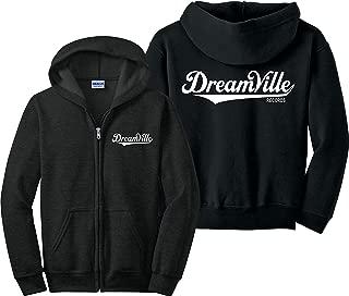 Dreamville Zip Up Hoodie J Cole KOD Tour TDE Records Music Zipper Sweatshirt