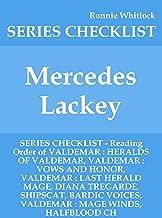 Mercedes Lackey - SERIES CHECKLIST - Reading Order of VALDEMAR : HERALDS OF VALDEMAR, VALDEMAR : VOWS AND HONOR, VALDEMAR : LAST HERALD MAGE, DIANA TREGARDE, SHIPSCAT, BARDIC VOICES, VALDEMA