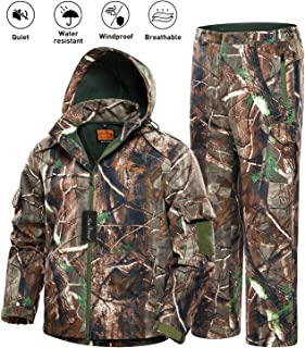 NEW VIEW 2020 Upgrade Hunting Jacket for Men,Silent Water...