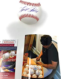Miguel Cabrera Detroit Tigers Signed Autograph Official MLB Baseball JSA Witnessed Certified