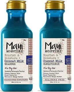 Maui Moisture Nourish & Moisture + Coconut Milk (Shampoo & Conditioner)