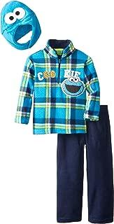 Sesame St Boys' Cookie Monster 3 Piece Arctic Fleece Set