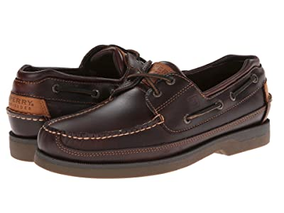 Sperry Mako 2-Eye Canoe Moc (Amaretto) Men