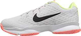 Nike Women's Air Zoom Ultra Tennis Shoes (10.5, Vast Grey/Black/White/Volt Glow)