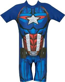 Avengers - Bañador para niño - Capitan America