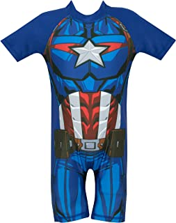 captain america swimsuit