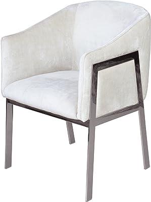 Control Brand Lolian Arm Chair, White
