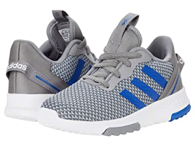 adidas Kids Racer TR 2.0 (Infant/Toddler) (Grey/Team Royal Blue/Halo Silver) Kid