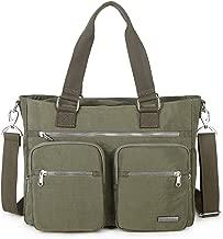 Crest Design Nylon Shoulder Bag Handbag, Teacher Nurse Tote Organizer Travel Work Bag Purse