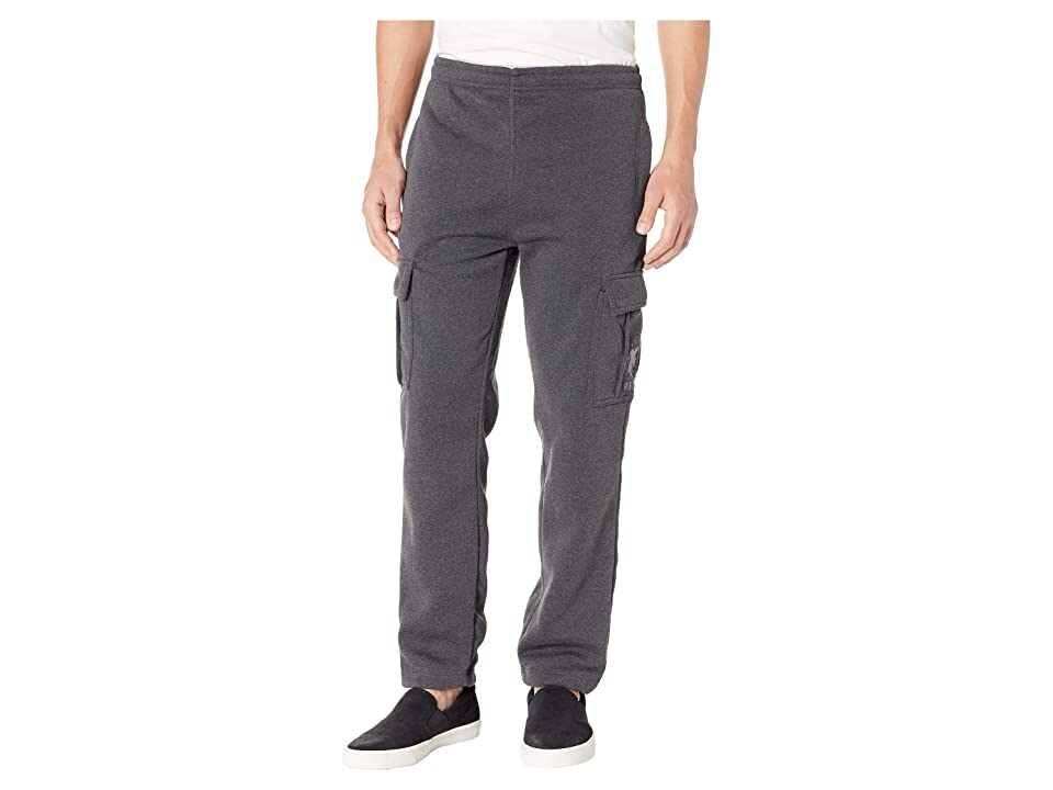 U.S. POLO ASSN. Classic Fleece Cargo Pants (Dark Heather Grey) Men