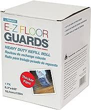 Trimaco 54717 E-Z Floor Guard Heavy Duty Film Refill Rolls Modern, Economical Alternative to Shoe Covers, 6.3