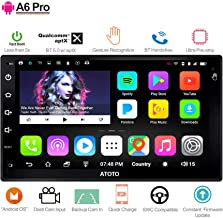 [New] ATOTO A6 2DIN Android Car Navigation Stereo - 2X Bluetooth & Phone Fast Charge - PRO A6Y2721PR-G Gesture Operation - Car Entertainment Multimedia Radio,WiFi,Support 256G SD &More