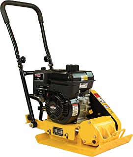 RuggedMade MS60B 2,400 Pound Compaction Force Plate Compactor with 5HP Briggs & Stratton Engine