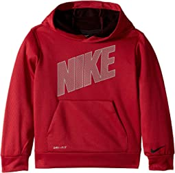 Mesh Face Therma Pullover Hoodie (Little Kids)