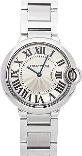 Ballon Bleu de Cartier Quartz (Battery) Silver Dial Mens Watch W69011Z4 (Certified Pre-Owned)