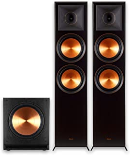 Klipsch RP-8060FA 2.1 Home Theater Bundle with SPL-150 Sub Ebony