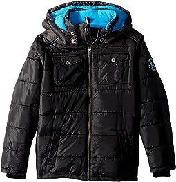 Tommy Hilfiger Kids - Alexander Puffer Jacket (Big Kids)