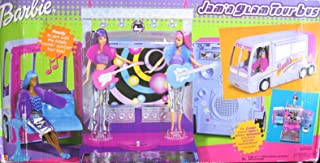Barbie Jam `n Glam CONCERT TOUR BUS Playset (2001)