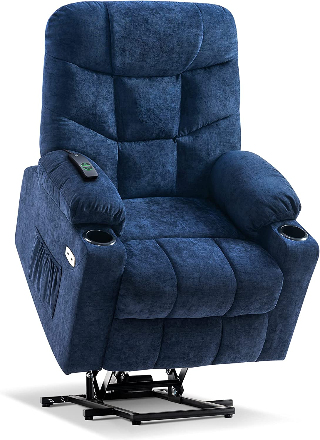 Now free shipping Mcombo Electric Power favorite Lift Recliner Chair Sofa Po for 3 Elderly