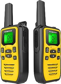 Profesionales Walkie Talkie PMR USB Recargable, Walky Talky Adultos Niños, 8 Canales de Escaneo VOX Transmisores-receptore...