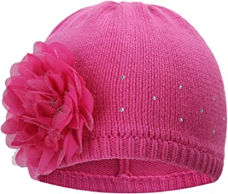 cute baby hats with flowers