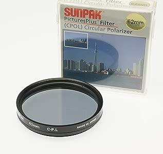 Sunpak Circular Polarizing Filter Made Japan for Tamron 18-270mm F 3 5...