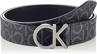 Calvin Klein Women's 3cm Monogram belt Belts