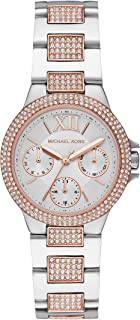 Michael Kors Camille Women's White Dial Stainless Steel Analog Watch - MK6846