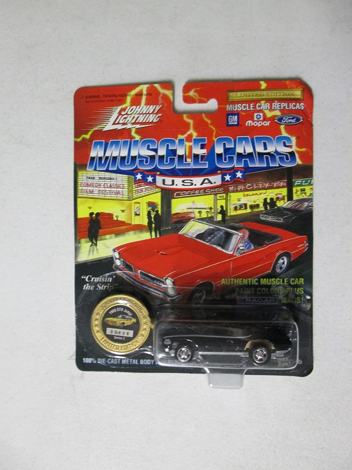 Johnny Lightning Muscle Cars USA 1969 GTO Judge 1 64 Black