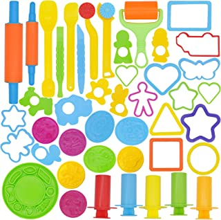 Joyin 44 Pieces Clay Dough Tools Kit with Models and Molds.