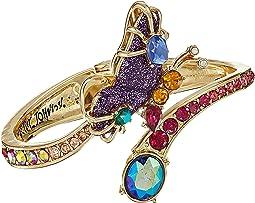 Multi Stone Butterfly Hinge Bracelet