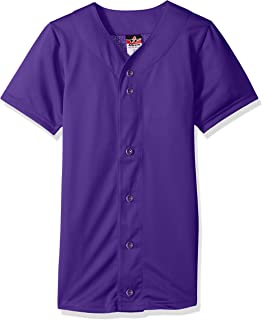 Alleson Athletic Mens Baseball Jersey 524PD-P