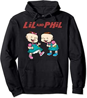 Lil And Phil Laughing Poster Pullover Hoodie