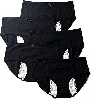 Luna Cup Menstrual Underwear Breathable Period Panties Postartum Inconvience Panty Multi Pack for Women Girls