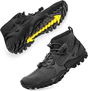 Womens Mens Unisex Slip Resistant Trail Running Shoes Stylish Fitness Walking Jogging Sock Sneakers