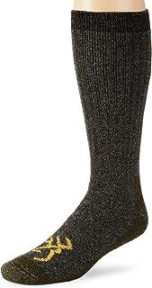 Browning Hosiery Men's Marl Merino Wool Blend Sock, 2 Pair Pack