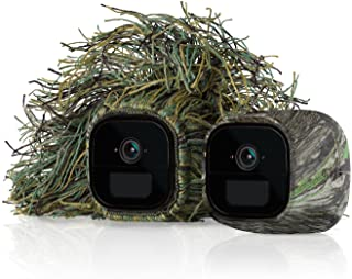 Arlo Technologies, Inc Arlo Accessory - Skins | Set of 2 – Ghillie & Mossy Oak | Compatible with Arlo Go only| (VMA4250), ...