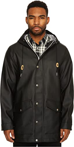 Long Two-Pocket Fishtail Hooded Parka