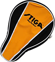 STIGA Table Tennis Racket Cover Made from Durable Vinyl to Protect 1-2 Rackets at Once and Increase Tack-Life of Rubber