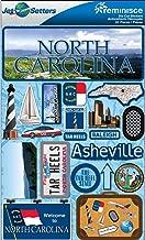 Reminisce Jet Setters 2 3-Dimensional Sticker, North Carolina