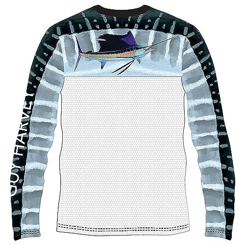 2d3f84da9 Guy Harvey Men's Del Mar Long Sleeve Performance Shirt