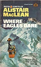 WHERE EAGLES DARE by ALISTAIR MACLEAN Fawcett Crest 1967 1969 3rd PB Movie TieIn