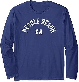 Pebble Beach Golf California Vintage CA Californian Design Long Sleeve T-Shirt