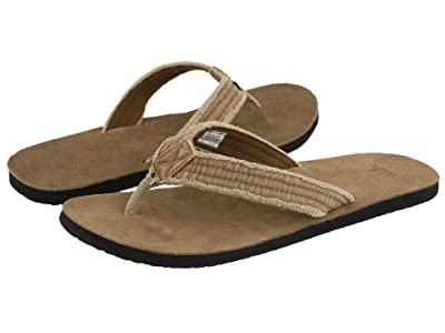Sanuk Fraid Not Big Tall (Khaki) Men