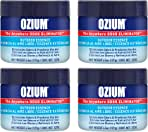 Ozium 4.5 Oz. 4 Pack Odor Eliminating Gel for Homes, Cars, Offices and More, Outdoor Essence, 4 Pack