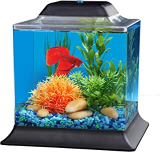 Koller Products AquaScene 1.5 Gallon Fish Tank - LED Lighting - AP155