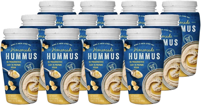 Homemade Hummus Paste Premium Ground NEW Crea Sesame Opening large release sale Rich Tahini
