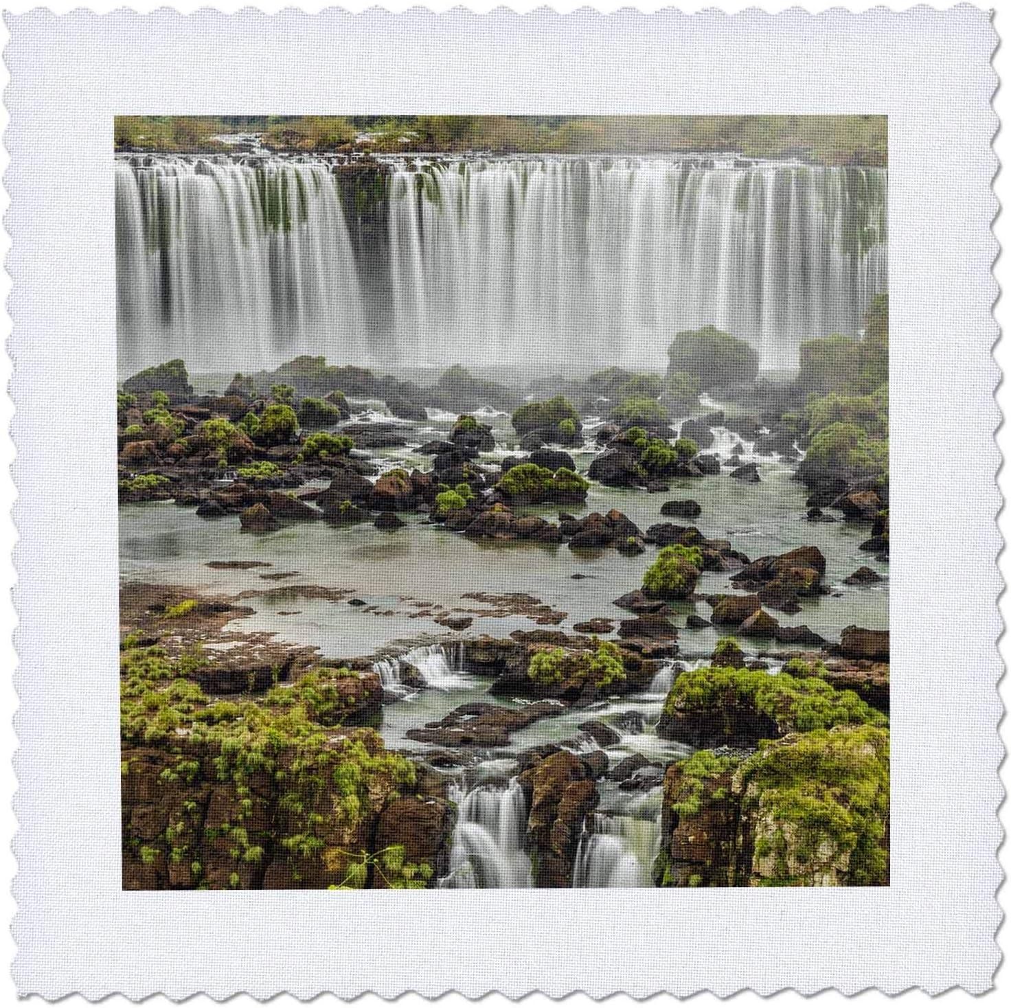 3dRose Las Vegas Mall Brazil Iguazu Falls. Landscape of scene - San Diego Mall Qu waterfalls.