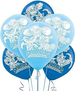 amscan Skylanders Printed Latex Balloons, Party Favor